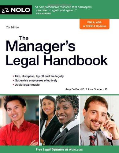 Manager's Legal Handbook