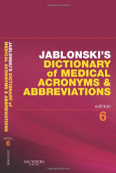 Dictionary Of Medical Acronyms And Abbreviations