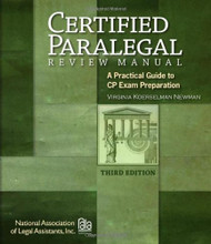Certified Paralegal Review Manual