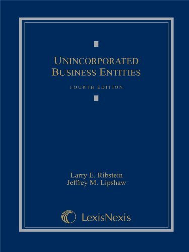 Unincorporated Business Entities