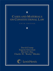 Cases And Materials On Constitutional Law