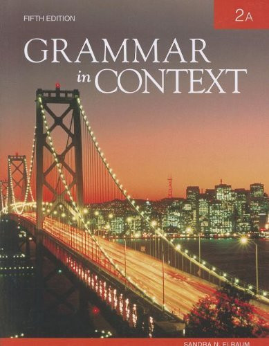 Grammar In Context 2A