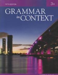 Book 3A For Grammar In Context