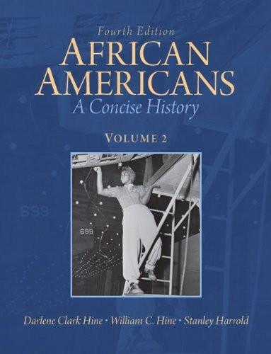 African Americans Volume 2