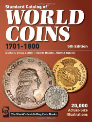 Standard Catalog Of World Coins 1701-1800
