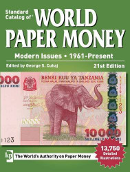 Standard Catalog Of World Paper Money Modern Issues 1961-Present