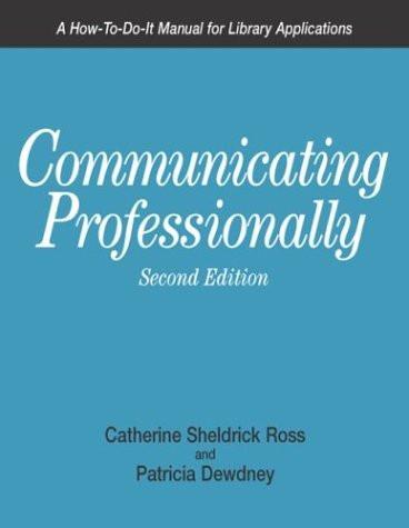 Communicating Professionally