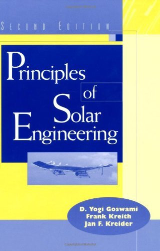 Principles Of Solar Engineering