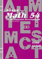 Saxon Math 54