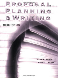 Proposal Planning And Writing by Jeremy T Miner