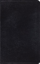 Esv Thinline Bible Genuine Leather Black Red Letter Text