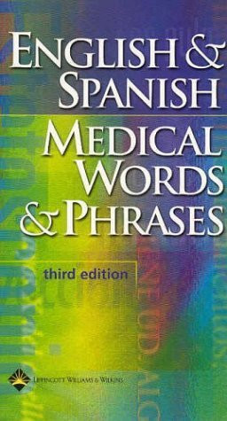 English And Spanish Medical Words And Phases