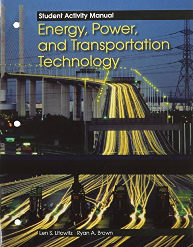 Energy Power And Transportation Technology