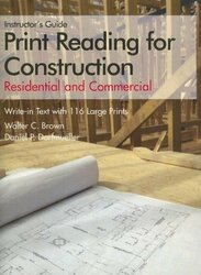 Print Reading For Construction by Walter Brown