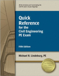 Quick Reference For The Civil Engineering Pe Exam