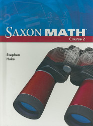 Saxon Math Course 2