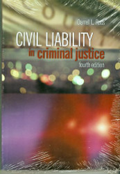 Civil Liability In Criminal Justice by Darrell Ross