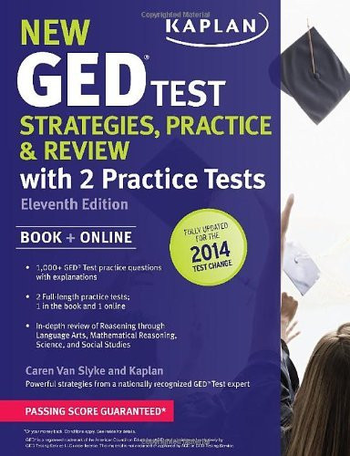 New Ged Test Strategies Practice And Review With 2 Practice Tests