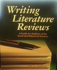 Writing Literature Reviews  A Guide for Students by Jose Galvan