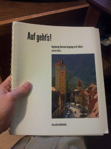 Auf Geht's! Beginning German Language And Culture