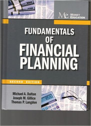 Fundamentals Of Financial Planning by Michael Dalton