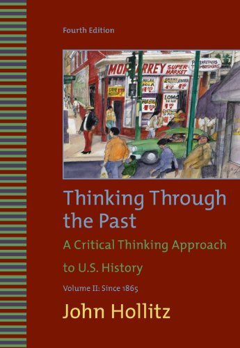 Thinking Through The Past Volume 2