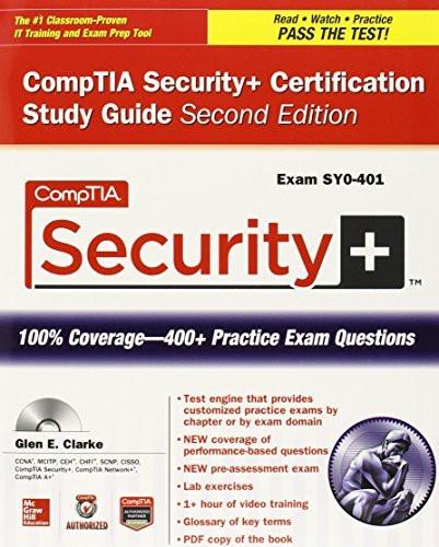 Comptia Security+ Certification Bundle