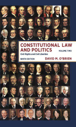 Constitutional Law And Politics Volume 2