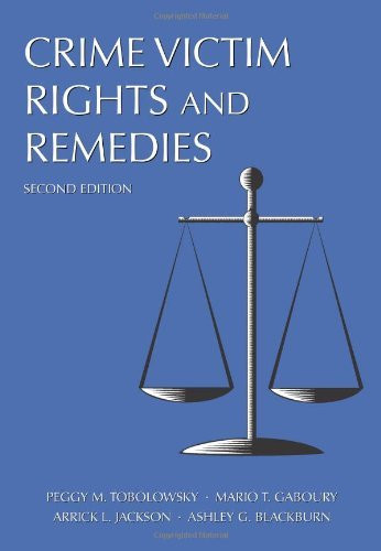 Crime Victim Rights And Remedies