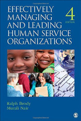Effectively Managing Human Service Organizations