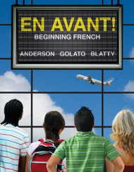 En Avant Beginning French by Bruce Anderson