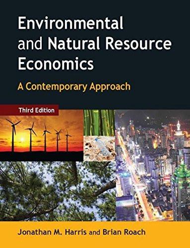 Environmental And Natural Resource Economics