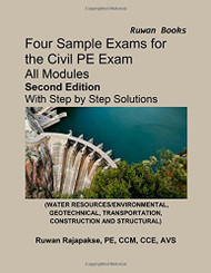 Four Sample Exams For The Civil Pe Exam
