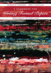 Handbook For Writing Formal Papers From Concept To Conclusion