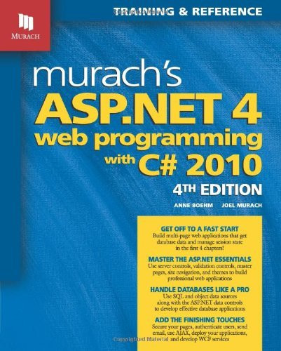 Murach's Aspnet 45 Web Programming With C# 2012