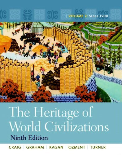 Heritage Of World Civilizations Volume 2