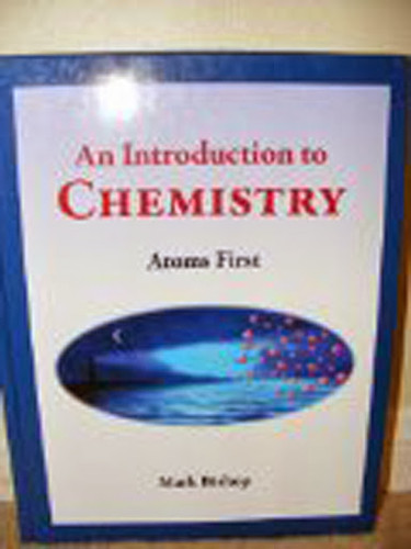 Introduction To Chemistry Atoms First