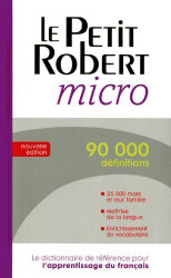 Le Petit Robert Micro -  Collectif