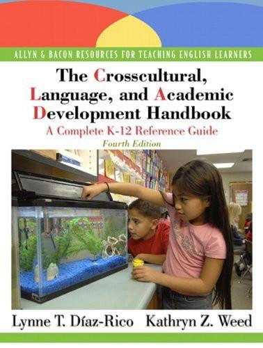 Crosscultural Language And Academic Development Handbook