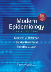 Modern Epidemiology by Kenneth J Rothman