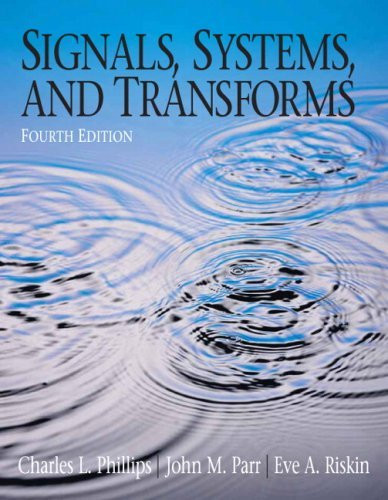 Signals Systems And Transforms