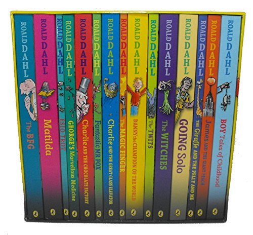 Roald Dahl Collection 15 Book Boxed Set