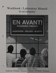 Workbook/Laboratory Manual T/A En Avant