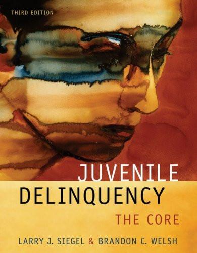 Juvenile Delinquency The Core