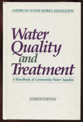 Water Quality And Treatment Handbook