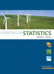 Essentals Of Statistics by Mario F Triola
