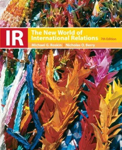 Ir The New World Of International Relations