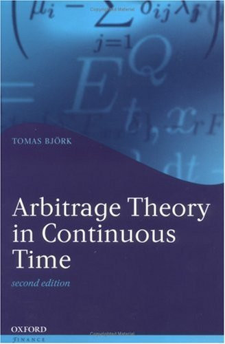 Arbitrage Theory In Continuous Time