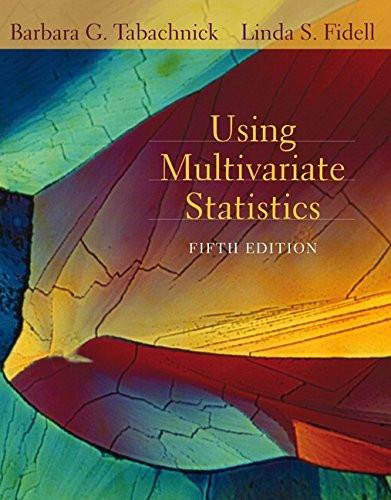 Using Multivariate Statistics
