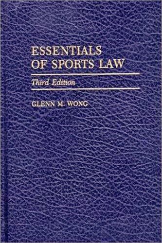 Essentials Of Sports Law